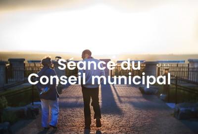 Séance du Conseil de Ville